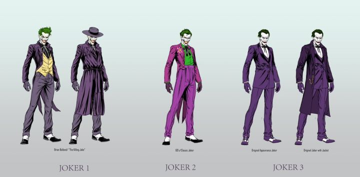 BATMAN: Geoff Johns Reveals New Character Designs for the 3 JOKERS