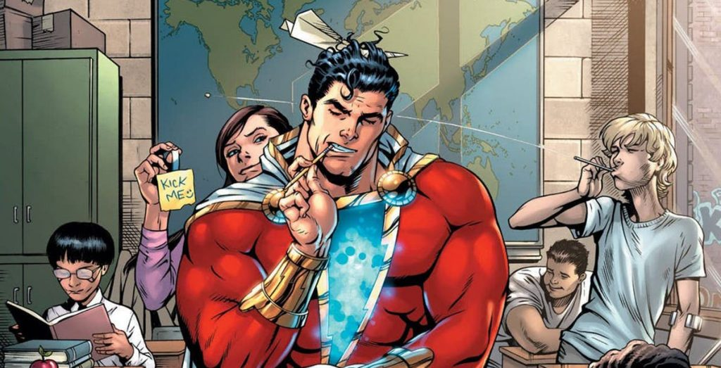 NYCC: Geoff Johns Shares New Shazam Art, Story Details