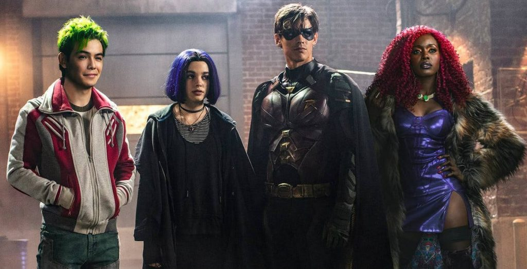 Titans: Geoff Johns Teases LGBT Hero For Next Season